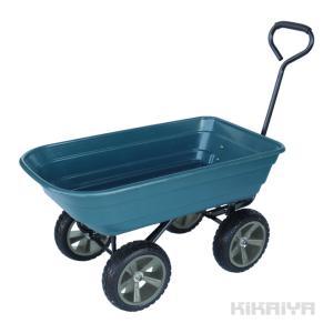 ・かさばる荷物でも楽に運べる、持ち運びに大変便利です ・荷台は樹脂製でサビに強いです ・ダンプ機能付...
