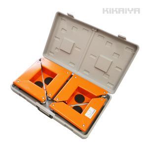 コーナー台車 4台セット 積載合計600kg 重量物運搬台車 コーナードーリー KIKAIYA|kikaiya-work-shop