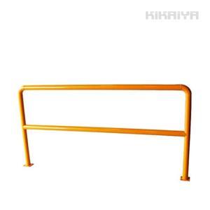 パイプガード 横型 2000mm 車止め ポール バリカー ガードパイプ アーチ形 アーチスタンド 固定式 スチール (個人様は営業所止め)KIKAIYA kikaiya-work-shop