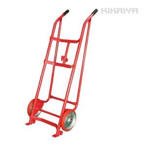 ドラム缶運搬車 ドラムキャリー ドラムポーター(レッド)R型【個人宅配達不可・商品代引不可】  KIKAIYA kikaiya-work-shop