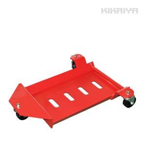 ホイールカードーリー 1個 積載重量450kg (鉄車輪) フラットタイプ タイヤドーリーKIKAIYA|kikaiya-work-shop