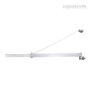 ホイストホルダー ジブクレーン 200kg/400kg 1200mm 電動ホイスト用 オプションフレーム KIKAIYA kikaiya-work-shop