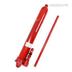 ロングラムジャッキ 8トン ダブルポンプ式 (2倍速) 油圧シリンダー ジャッキ  エンジンクレーン用 KIKAIYA kikaiya-work-shop