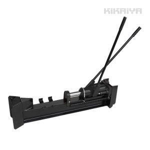 薪割り機 能力 10トン 手動油圧式 まきわりログスプリッター  薪割機「すご楽」(個人様は営業所止め)KIKAIYA kikaiya-work-shop