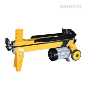 薪割り機 6トン 電動  まきわり ログスプリッター 4分割カッター付き 薪割機 油圧式 「すご楽」(個人様は営業所止め)KIKAIYA kikaiya-work-shop