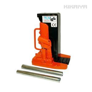 ・コンパクト ・低床の2トン爪付きジャッキ ・最低爪高さわずか16mmの薄型設計なので、狭い場所でも...