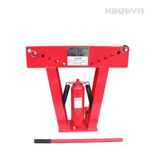 パイプベンダー15トン 手動タイプ 油圧式 アダプター7個付 パイプ曲げ機 【個人宅配達不可・商品代引不可 】  KIKAIYA|kikaiya-work-shop