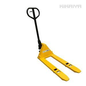 ミニハンドパレットトラック500kg フォーク長さ800mm フォーク全幅380mm 高さ62mm ハンドリフト 6ヶ月保証(個人宅配達不可) KIKAIYA|kikaiya-work-shop