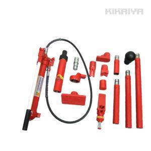ポートパワー ロングラムジャッキ 油圧シリンダー 10トン リペアキット 油圧ラムセット 6ヶ月保証(個人様は営業所止め) KIKAIYA|kikaiya-work-shop