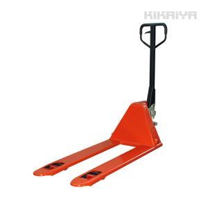 ハンドリフト低床51mm 2000kg フォーク長さ1150mm フォーク全幅540mm ハンドパレット 6ヶ月保証(個人様は営業所止め) KIKAIYA kikaiya-work-shop