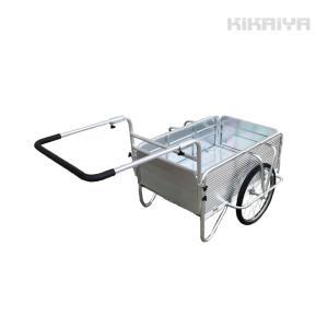 アルミリヤカー アルミ製キャリーカー ノーパンクタイヤ  KIKAIYA|kikaiya-work-shop