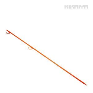 ロープスティック1500mm 10本セット ロープピン 2段フック ロープガイド フェンス用ピン 鉄杭 ロープ杭(個人様は営業所止め)KIKAIYA kikaiya-work-shop