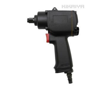 エアーインパクトレンチ ミニエアインパクトレンチ 1/2DR 軽量 (ソケットプレゼント) KIKAIYA kikaiya-work-shop