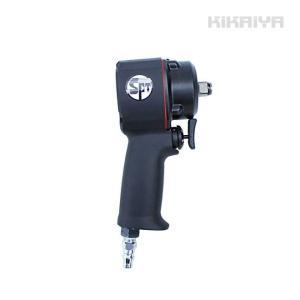 エアーインパクトレンチ ミニインパクトレンチ ショート 軽量 小型 1年保証  (ソケットプレゼント)KIKAIYA kikaiya-work-shop