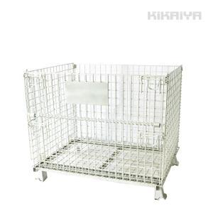 メッシュパレット中  10個セット 幅1000×奥行800×高さ850mm 網パレット パレティーナ 網カゴ ネットパレット 1200kg (個人様は営業所止め)KIKAIYA|kikaiya-work-shop