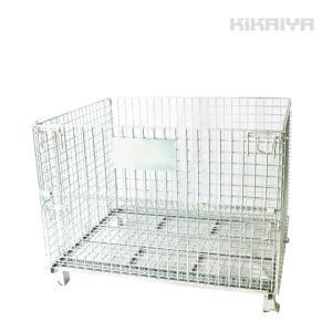 メッシュパレット大 10個セット 幅1200×奥行1000×高さ900mm 網パレット 網カゴ ネットパレット 1500kg パレティーナ(個人様は営業所止め) KIKAIYA|kikaiya-work-shop