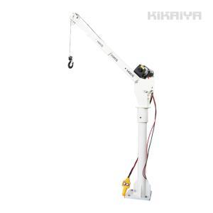 トラッククレーン 電動昇降ウインチ ミニクレーン コンパクトクレーン  ピックアップ クレーン「すご楽」(個人様は営業所止め) ウィンチ KIKAIYA|kikaiya-work-shop