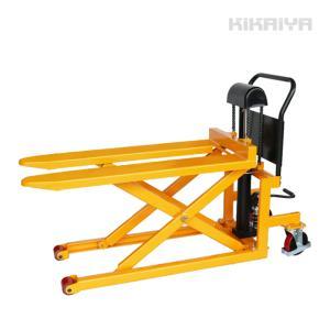 スキッドリフト 500kg スクーパー リフトテーブル 油圧式運搬昇降台車 物流保管用品リフター「すご楽」6ヶ月保証(法人様のみ配送可)KIKAIY|kikaiya-work-shop