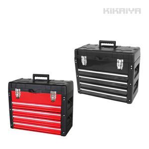 ツールボックス5段 工具箱 キャビネット ツールチェスト トップチェスト 引き出し付き 軽量  KIKAIYA|kikaiya-work-shop