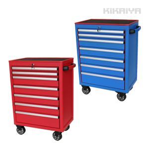 ローラーキャビネット7段 艶なし マットタイプ ツールボックス ロールキャビネット 工具箱 ツールキャビネット(個人様は営業所止め) KIKAIYA|kikaiya-work-shop