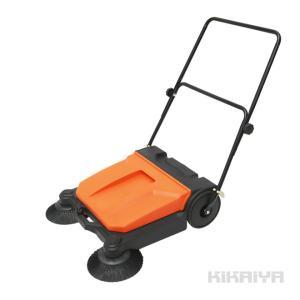 手押し式 スイーパー 12L 手動 掃除機 工場内清掃 KIKAIYA|kikaiya-work-shop