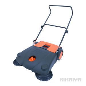 手押し式 スイーパー 14L 屋内 ・ 屋外用 手動 掃除機 落ち葉掃除  KIKAIYA|kikaiya-work-shop