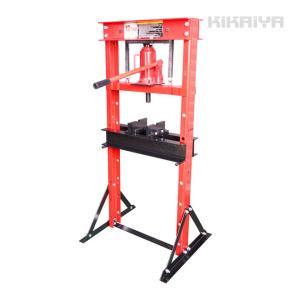 油圧プレス 12トン 手動 門型プレス機 6ヶ月保証(個人様は営業所止め) KIKAIYA|kikaiya-work-shop