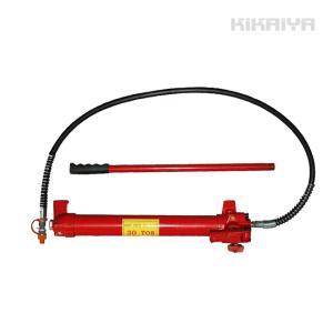 手動式油圧ポンプ(大) 油圧ホース付き KIKAIYA|kikaiya-work-shop