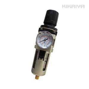 レギュレーター付エアーフィルター エアーレギュレーター3/8(送料無料)|kikaiya