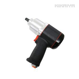 KIKAIYA エアーインパクトレンチセット エアインパクトレンチセット エアー式 ソケット8個付 専用ケース付 kikaiya