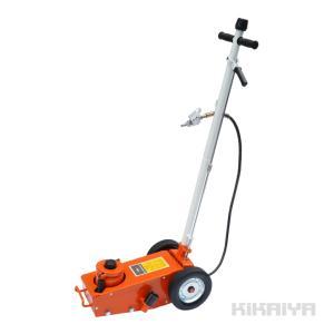 KIKAIYA エアートラックジャッキ22トン低床 トラックタイヤ交換 ガレージジャッキ 6ヶ月保証【商品代引き不可】|kikaiya