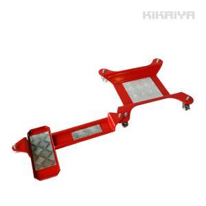 KIKAIYA バイクドーリー サイドスタンド (ハーレー対応) バイク移動ツール 耐荷重300kg|kikaiya
