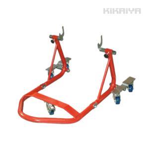 KIKAIYA バイクスタンド メンテナンススタンド リア用 自在キャスター5個付|kikaiya