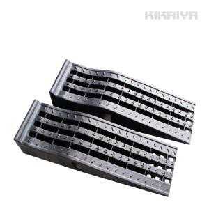 ◆前輪をのり上げることで簡易的に車輌をリフトアップできる、カースロープ2個セットです ◆タイヤを載せ...