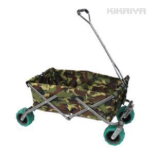 折りたたみキャリーカート マルチキャリー アウトドア ホームキャリー 台車 ノーパンクタイヤ 大容量|kikaiya
