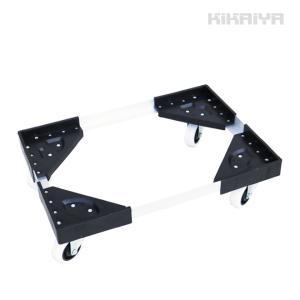 KIKAIYA コンテナドーリー100kg コンテナ台車 アルミ運搬台車 キャスター台車 自在車輪|kikaiya