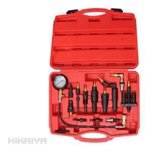 ディーゼルエンジン コンプレッションゲージ コンプレッションテスター (認証工具)KIKAIYA