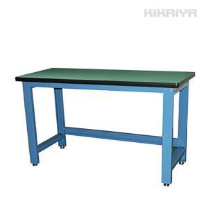 KIKAIYA 中量作業台 ワークテーブル 耐荷重1000kg W1530xD655xH885mm【個人宅配達不可・商品代引不可】|kikaiya