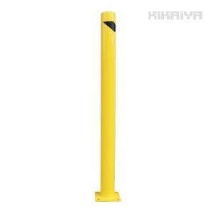 車止めポール 直立型(超ロング) H1505mm  バリカー ガードパイプ(法人様のみ配送可)(代引不可) KIKAIYA|kikaiya