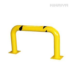 車止めポール バリカー 横型(ワイド)W1305xH610mm ガードパイプ(法人様のみ配送可)(代引不可) KIKAIYA|kikaiya