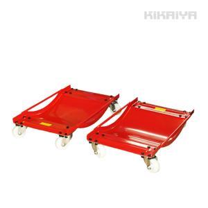 ホイールカードーリー (ナイロン車輪) 2個セット 積載合計 900kg タイヤドーリー KIKAIYA|kikaiya
