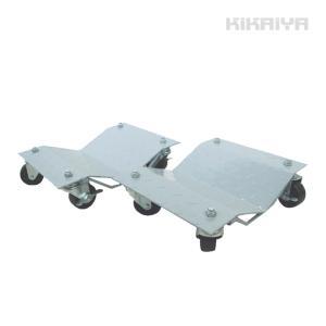 ホイールカードーリー ナイロン(コンパクトタイプ) 2個セット 積載合計 1100kg KIKAIYA|kikaiya