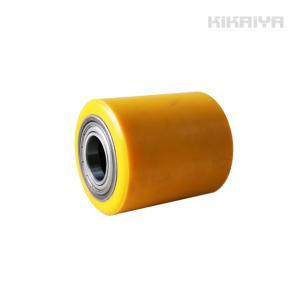 交換用ローラー1個 ウレタンローラー (マシンローラー2トン用) KIKAIYA|kikaiya