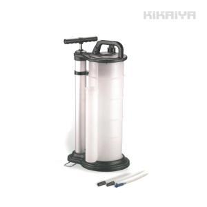 ポータブルオイルチェンジャー9リットル 手動式 バキュームポンプ|kikaiya