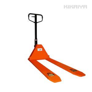 KIKAIYA ハンドパレット1000kg 自動販売機運搬 超低床35mm フォーク長さ1150mm ハンドリフト 6ヶ月保証(個人宅配達不可) kikaiya
