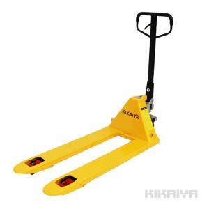 ハンドリフト2500kg ダブルローラー ハンドパレット 6ヶ月保証(法人様のみ配送可) KIKAIYA|kikaiya