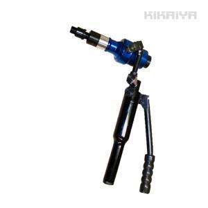 KIKAIYA 油圧パンチャー パンチセット 自在ヘッド 6ヶ月保証|kikaiya