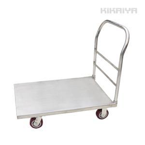 ステンレス台車 500kg オールステンレス仕様 大型台車 610x915mm 業務用 運搬車(個人様は営業所止め)KIKAIYA|kikaiya
