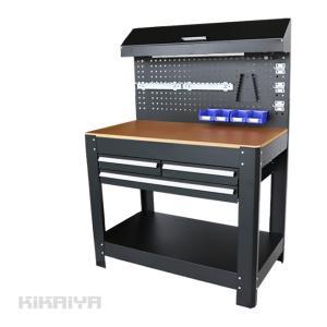 ・作業台の天板は約20mmの厚みがあり、耐久性に優れています (耐水性はございません)  ・作業台の...