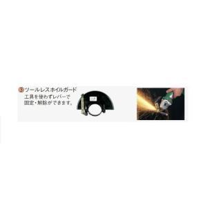 日立工機 100mmディスクグラインダ用ツールレスホイルガード 331764|kikaiyasan